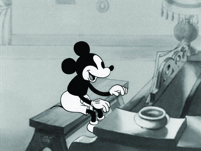 #001 MICKEY MOUSE from PUPPY LOVE Image