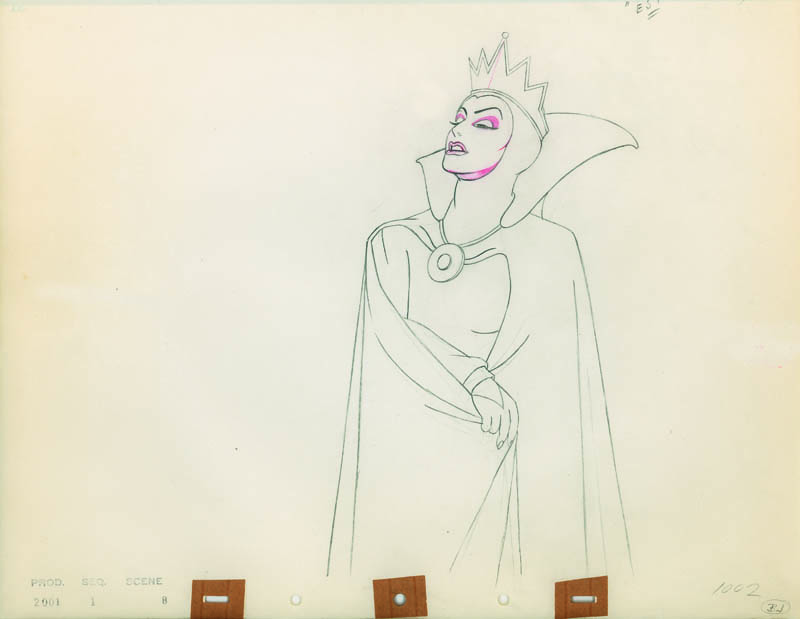 #016 ANIMATION DRAWING of THE QUEEN Image
