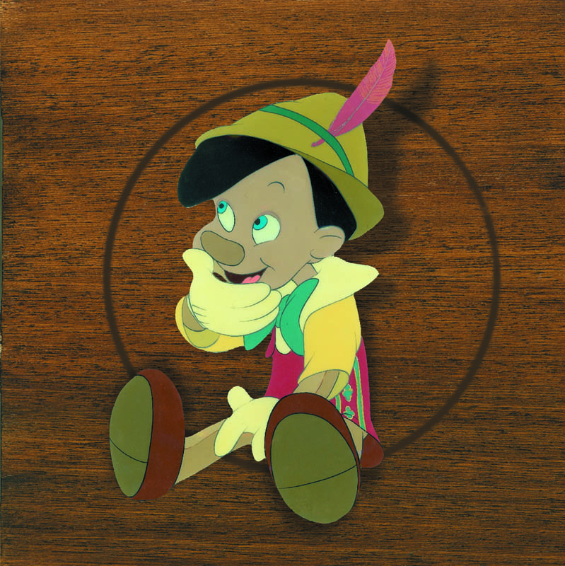 #023 PINOCCHIO SEATED COURVOISIER SET-UP Image