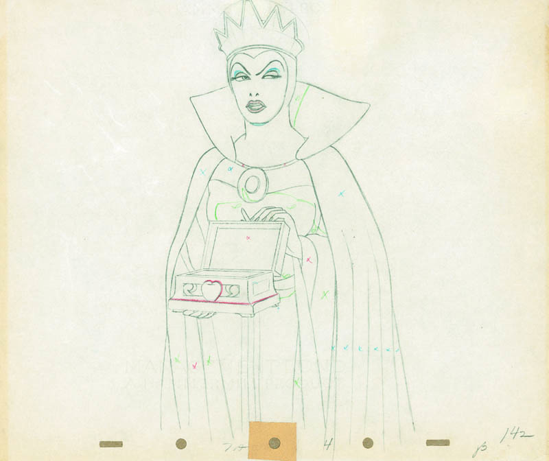 #007 ANIMATION DRAWING of THE QUEEN Image