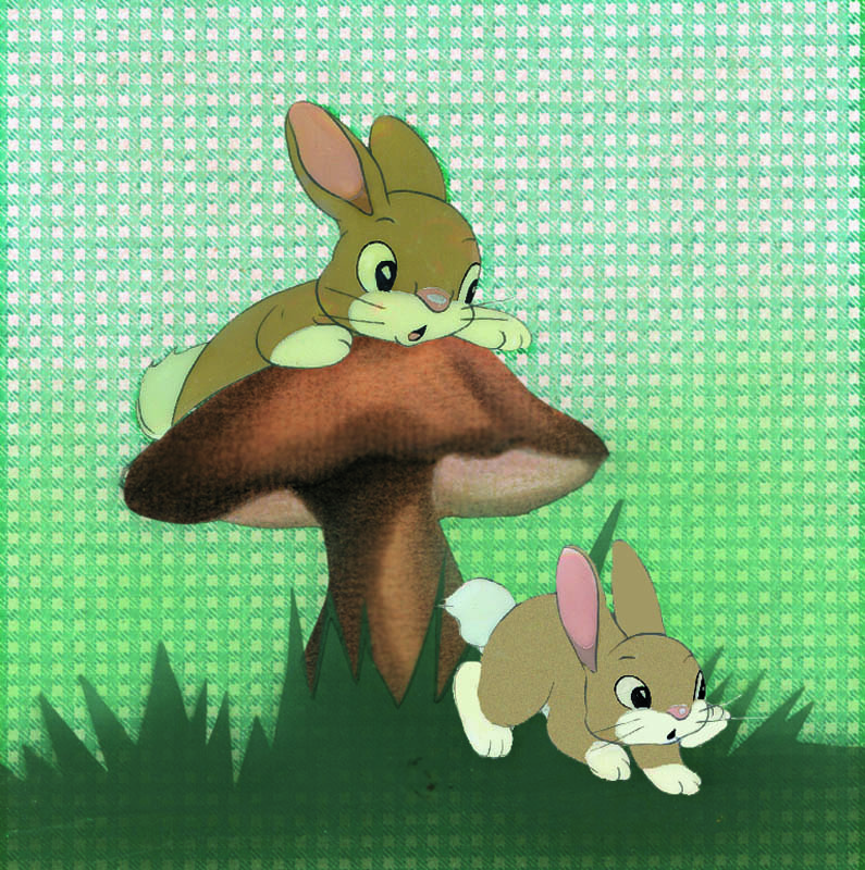#002 CURIOUS BUNNIES COURVOISIER SET-UP Image
