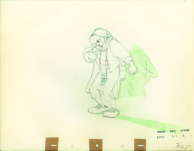 #024 ANIMATION DRAWING of GEPPETTO Image