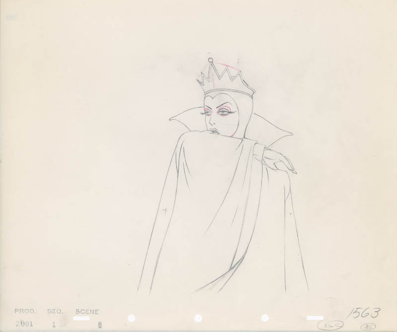 #003 ANIMATION DRAWING of THE QUEEN Image